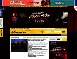 trojmiasto.dlastudenta.pl screenshot