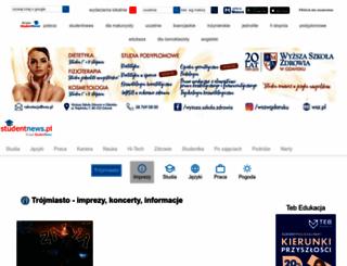 trojmiasto.studentnews.pl screenshot