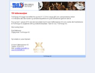 troll-norge.no screenshot