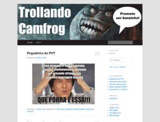 trollandocamfrog.wordpress.com screenshot