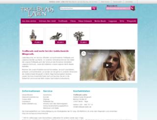 trollbeads-laden.de screenshot