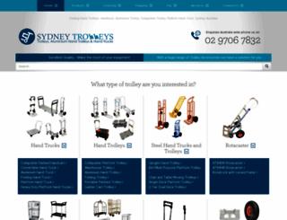 trolleysonline.com.au screenshot