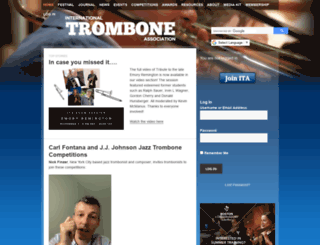 trombone.net screenshot