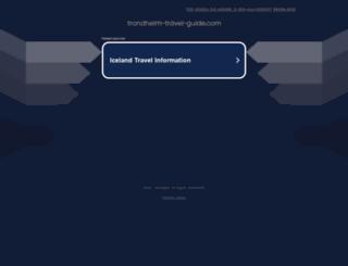 trondheim-travel-guide.com screenshot