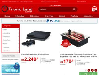 tronicland.com.br screenshot