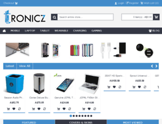 tronicz.com.au screenshot