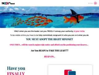 troolsocial.com screenshot