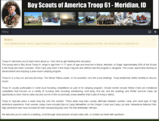 troop61.cc screenshot