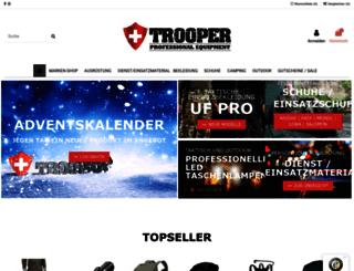 trooper.ch screenshot