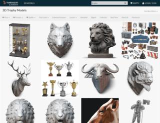 trophy.turbosquid.com screenshot