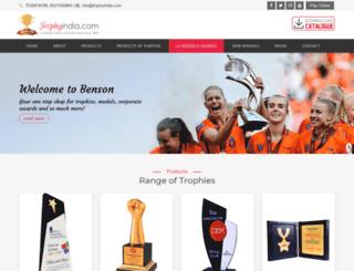 trophyindia.com screenshot