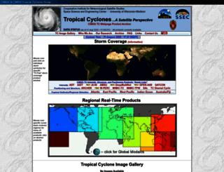 tropic.ssec.wisc.edu screenshot