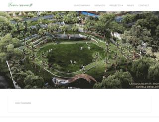 tropicagreeneries.com screenshot