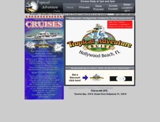 tropicaladventurecruise.com screenshot