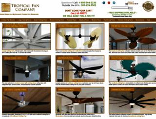 tropicalfancompany.com screenshot