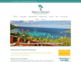 tropicalhideawaybequia.com screenshot
