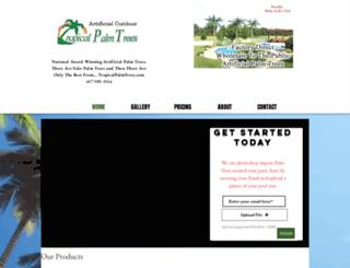 tropicalpalmtrees.com screenshot