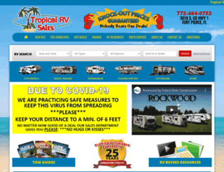 tropicalrv.net screenshot