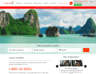 tropicalsky.com screenshot