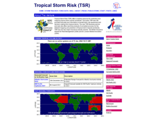 tropicalstormrisk.com screenshot
