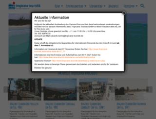 tropicana-touristik.de screenshot