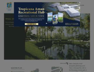 tropicanaaman.com.my screenshot