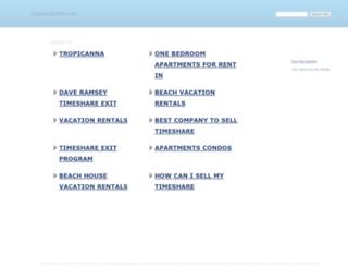 tropicanavillas.com screenshot
