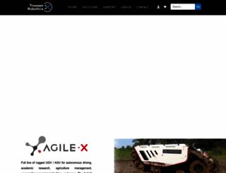 trossenrobotics.com screenshot