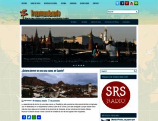 trotamundeando.com screenshot