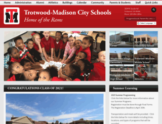 trotwood.k12.oh.us screenshot