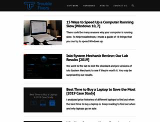 troublefixers.com screenshot