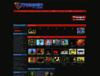 troupio.com screenshot