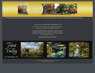 troutvalleycommunity.com screenshot