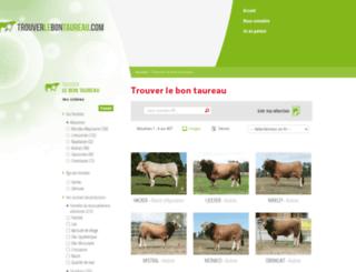trouverlebontaureau.com screenshot