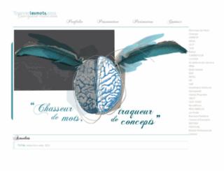 trouverlesmots.com screenshot
