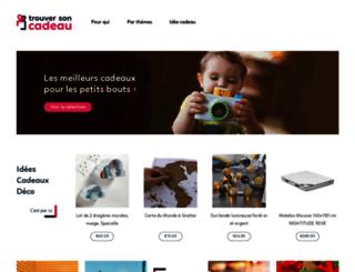 trouversoncadeau.com screenshot
