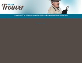 trouverunsite.com screenshot