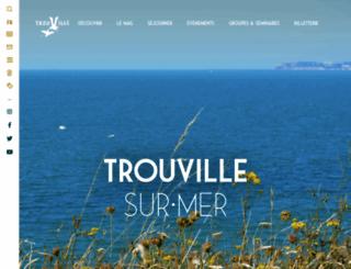 trouvillesurmer.org screenshot