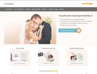 trouwkaarten-bestellen.nl screenshot