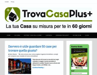 trovacasaplus.it screenshot