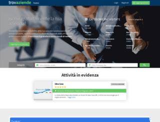 trovaziende.net screenshot