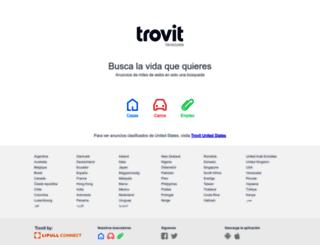 trovit.co.ve screenshot