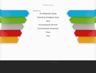 trowbo.com screenshot