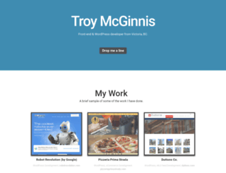 troymcginnis.com screenshot