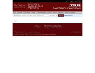 trrjournalonline.trb.org screenshot
