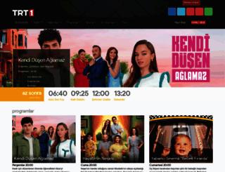 trt1.com.tr screenshot