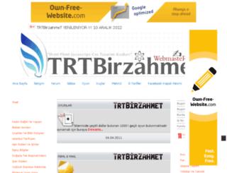 trtbirzahmet.tr.gg screenshot