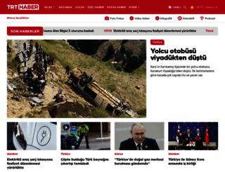 trthaber.com screenshot
