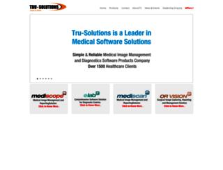 tru-solutions.com screenshot