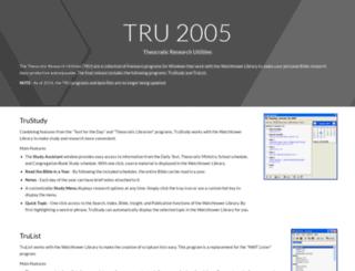 tru.pjstech.com screenshot